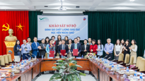 Preliminary site visit assessing quality of education at Diplomatic Academy of Vietnam