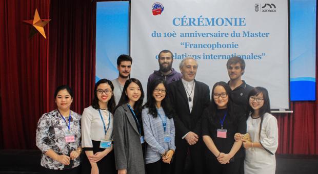 """THÔNG BÁO: Tuyển sinh Thạc sĩ Pháp ngữ Ngành """"Quan hệ quốc tế"""" Chuyên ngành """"Pháp ngữ và Quan hệ quốc tế"""" năm 2020"""