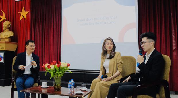 Sinh viên Khoa tiếng Anh tham dự Talkshow (DAV E-Talk): Từ Mát-xcơ-va đến Hà Nội: Niềm đam mê tiếng Việt và vươn lên để tỏa sáng