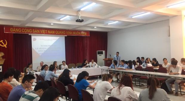 Tọa đàm về phương pháp học tiếng Anh chuyên ngành 2016