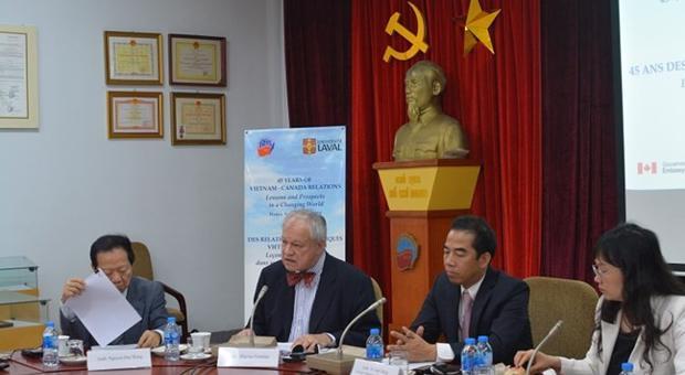 """Hội thảo quốc tế: """"Quan hệ Ngoại giao Việt Nam - Canada: Bài học và triển vọng trong một thế giới đang biến đổi"""""""