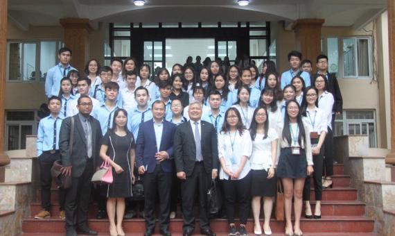 Diễn đàn đại sứ: Đại sứ Indonesia tại Việt Nam nói chuyện với cán bộ và sinh viên Học viện