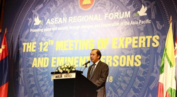 Cuộc họp lần thứ 12 Nhóm các Chuyên gia và Nhân vật nổi tiếng của Diễn đàn Khu vực ASEAN