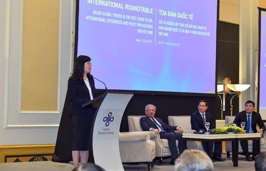 Ngành đối ngoại sẽ đóng vai trò tiên phong kết nối Việt Nam với các xu thế phát triển lớn của thế giới, thúc đẩy hội nhập quốc tế toàn diện và sâu rộng