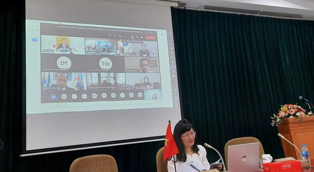 Học viện Ngoại giao tham dự Hội nghị Giám đốc và Hiệu trưởng Trường Đào tạo Ngoại giao các nước ASEAN+3 lần thứ 15