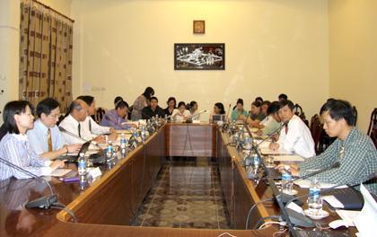 Trao đổi học thuật thường niên với Viện Quan hệ Quốc tế (IIR) Đài Loan