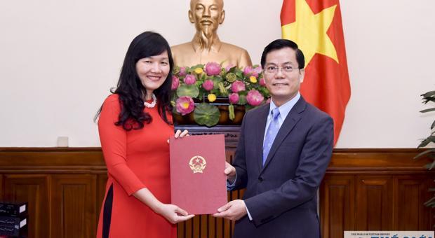 Giám đốc Trung tâm FOSET được bổ nhiệm giữ chức Phó Giám đốc Học viện Ngoại giao