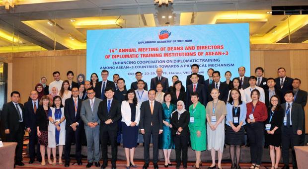 Khai mạc Hội nghị thường niên Giám đốc và Hiệu trưởng các trường đào tạo ngoại giao các nước ASEAN+3 lần thứ 14 năm 2019
