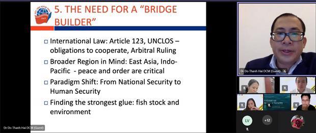 """Tọa đàm về """"An ninh biển"""" trong khuôn khổ dự án Đối thoại Nghiên cứu viên trẻ ASEAN – EU"""