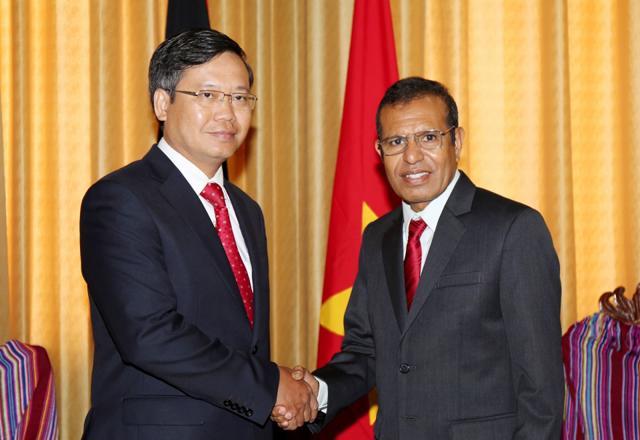 Ảnh PGS.TS Hoàng Anh Tuấn trong hoạt động ngoại giao, Nguồn ảnh: Đại sứ quán Việt Nam tại Indonesia